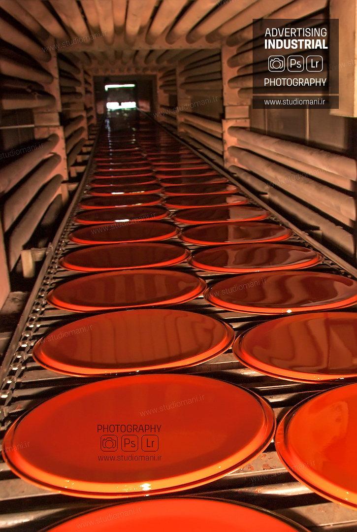 عکاسی خط تولید فولاد