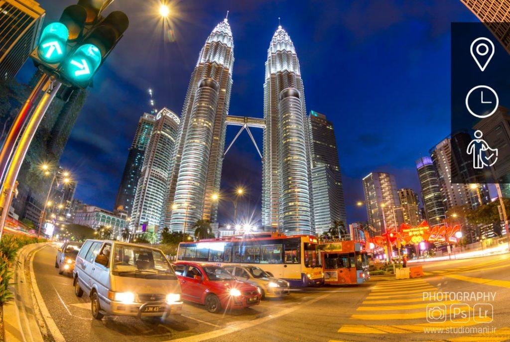 اموزش عکاسی شهری در شب