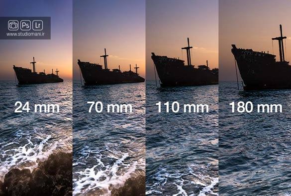 Focal Length - فاصله کانونی