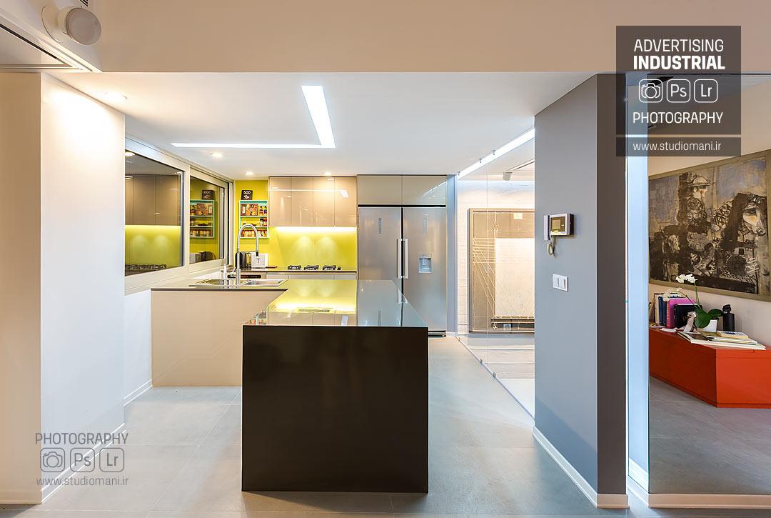 عکاسی دکوراسیون داخلی آشپزخانه