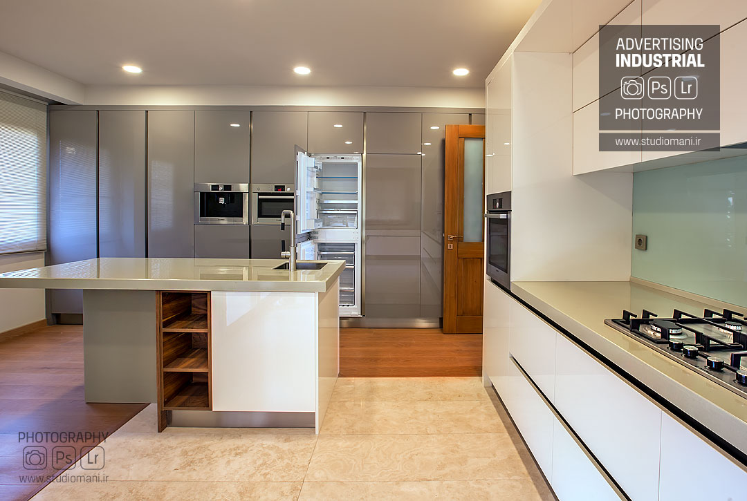 عکاسی دکوراسیون آشپزخانه