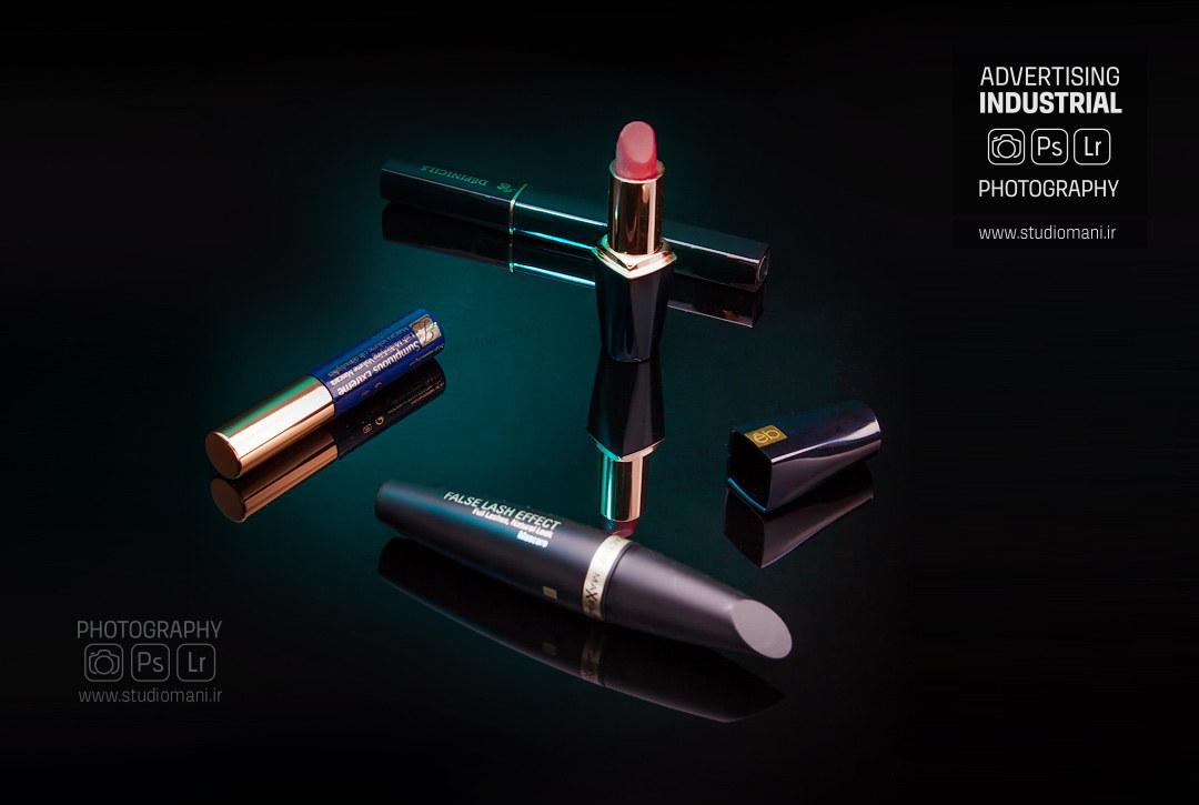 عکاسی تبلیغاتی محصولات آرایشی