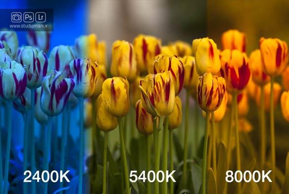 دمای رنگ-واژه نامه عکاسی