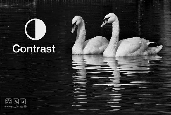 کنتراست-واژه نامه عکاسی