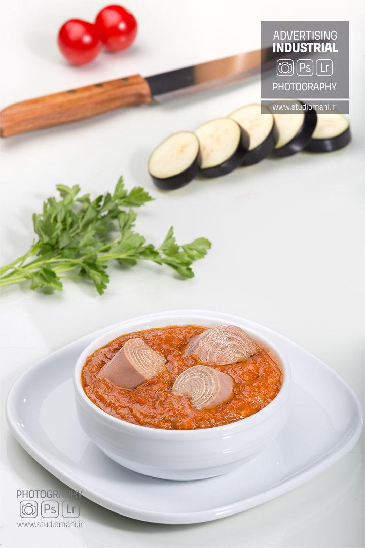 عکاسی محصولات غذایی شالیتون