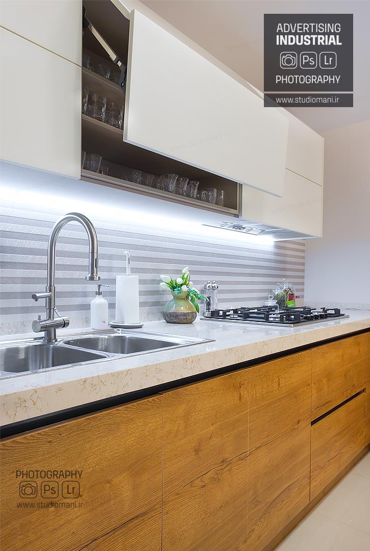 عکاسی سیستم آشپزخانه