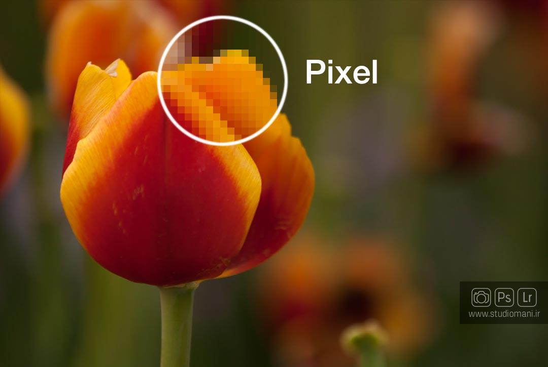 پیکسل -واژه های عکاسی