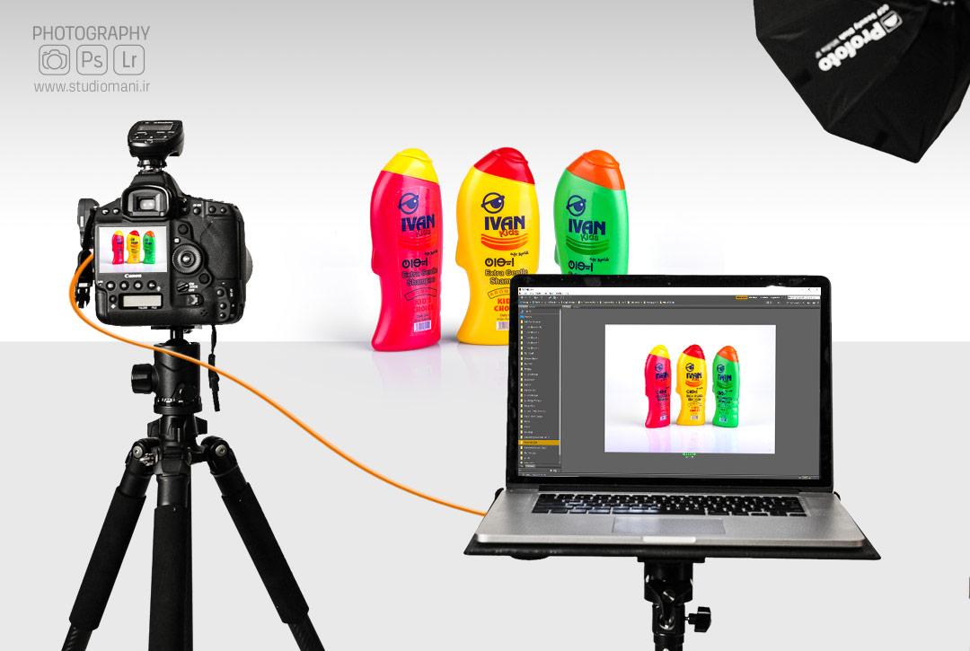 سیستم تترینگ در عکاسی صنعتی