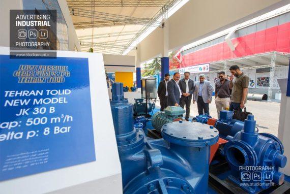 عکاسی نمایشگاه نفت