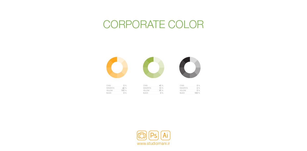 رنگ سازمانی برند