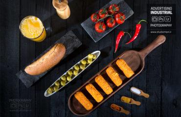 عکاسی تبلیغاتی مواد غذایی