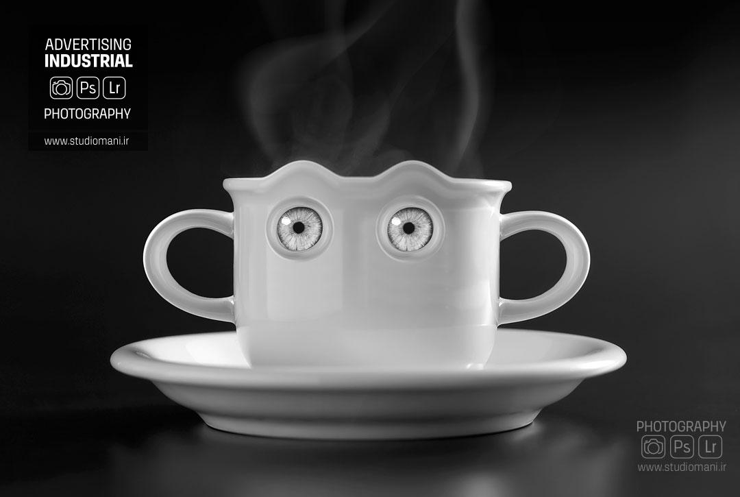عکس تبلیغاتی قهوه