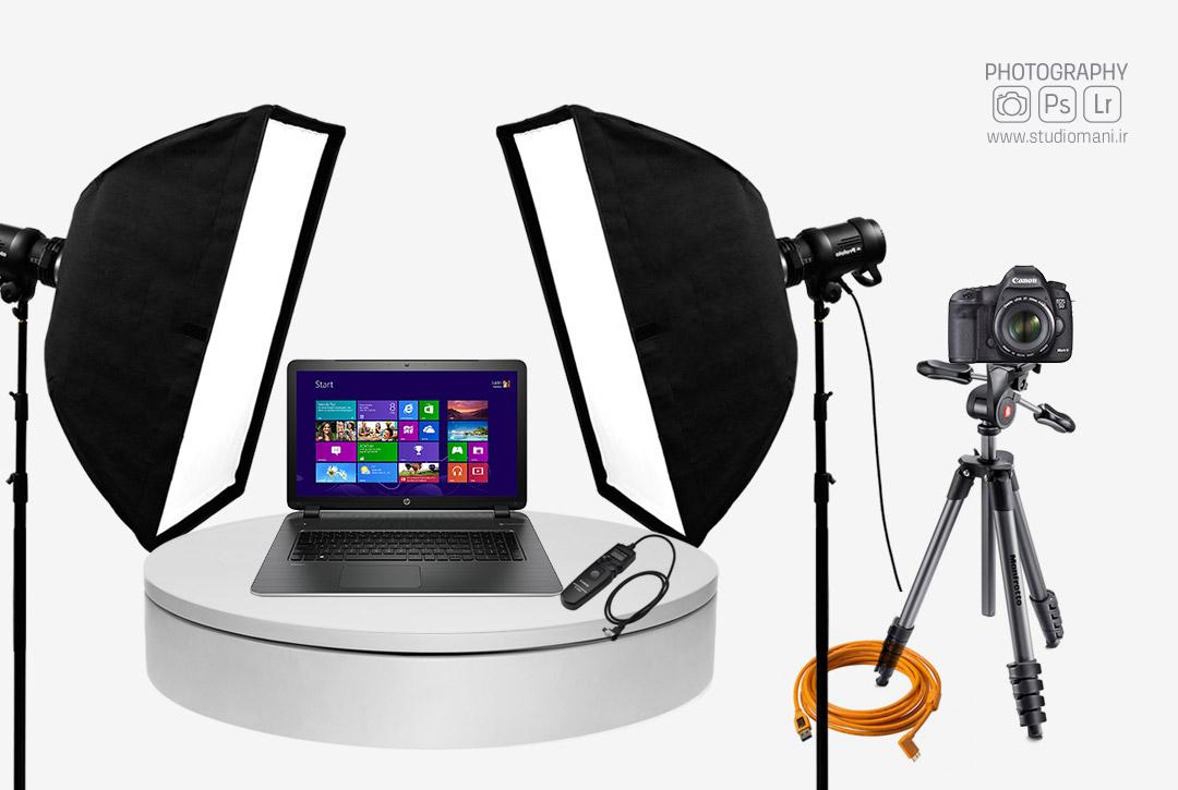 ابزارهای عکاسی 360 درجه