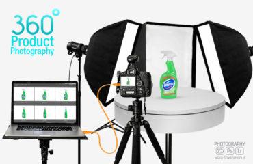 آموزش عکاسی 360 درجه محصولات