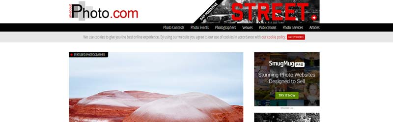 سایت درباره عکاسی