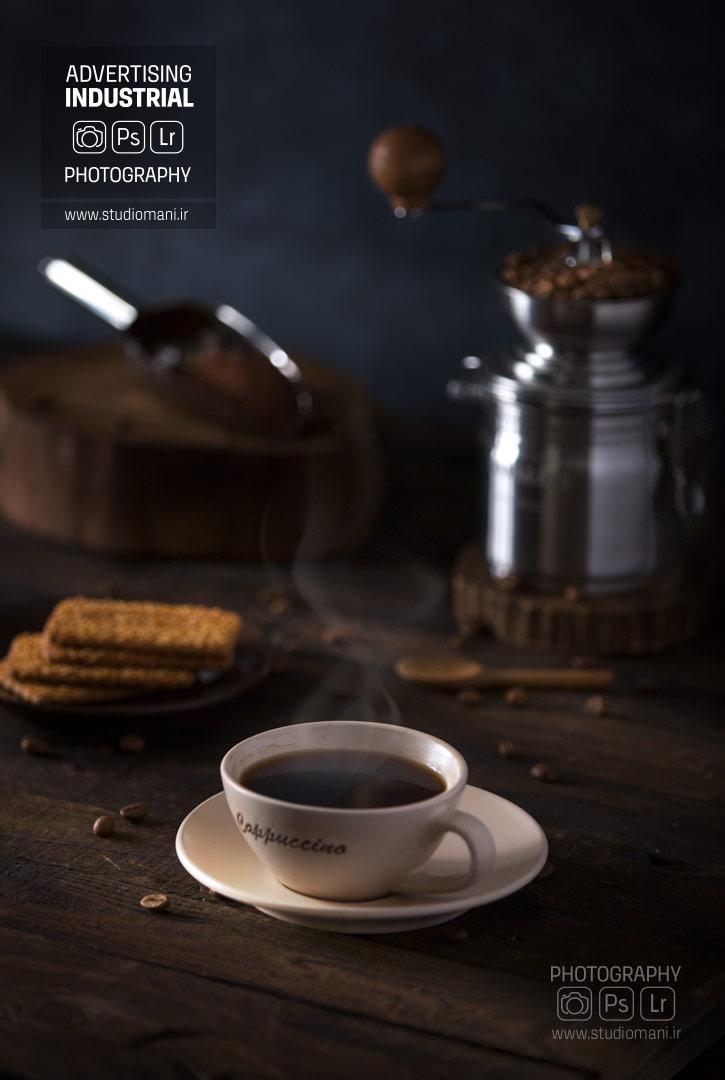 عکاسی تبلیغاتی قهوه