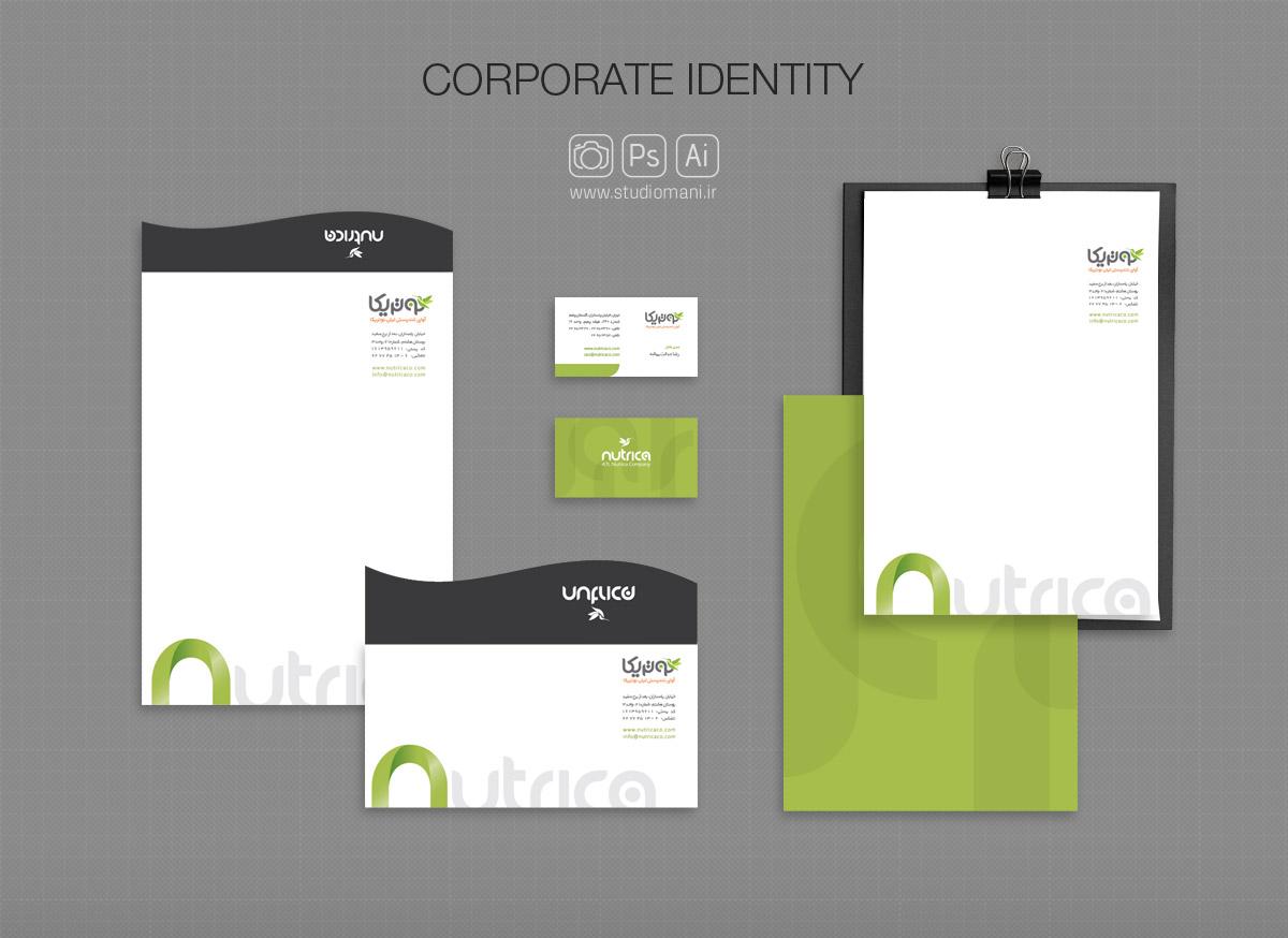 طراحی هویت سازمانی نوتریکا