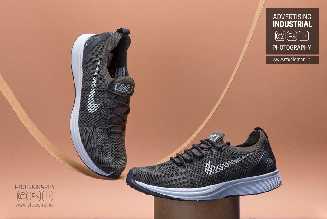 عکاسی کفش ورزشی