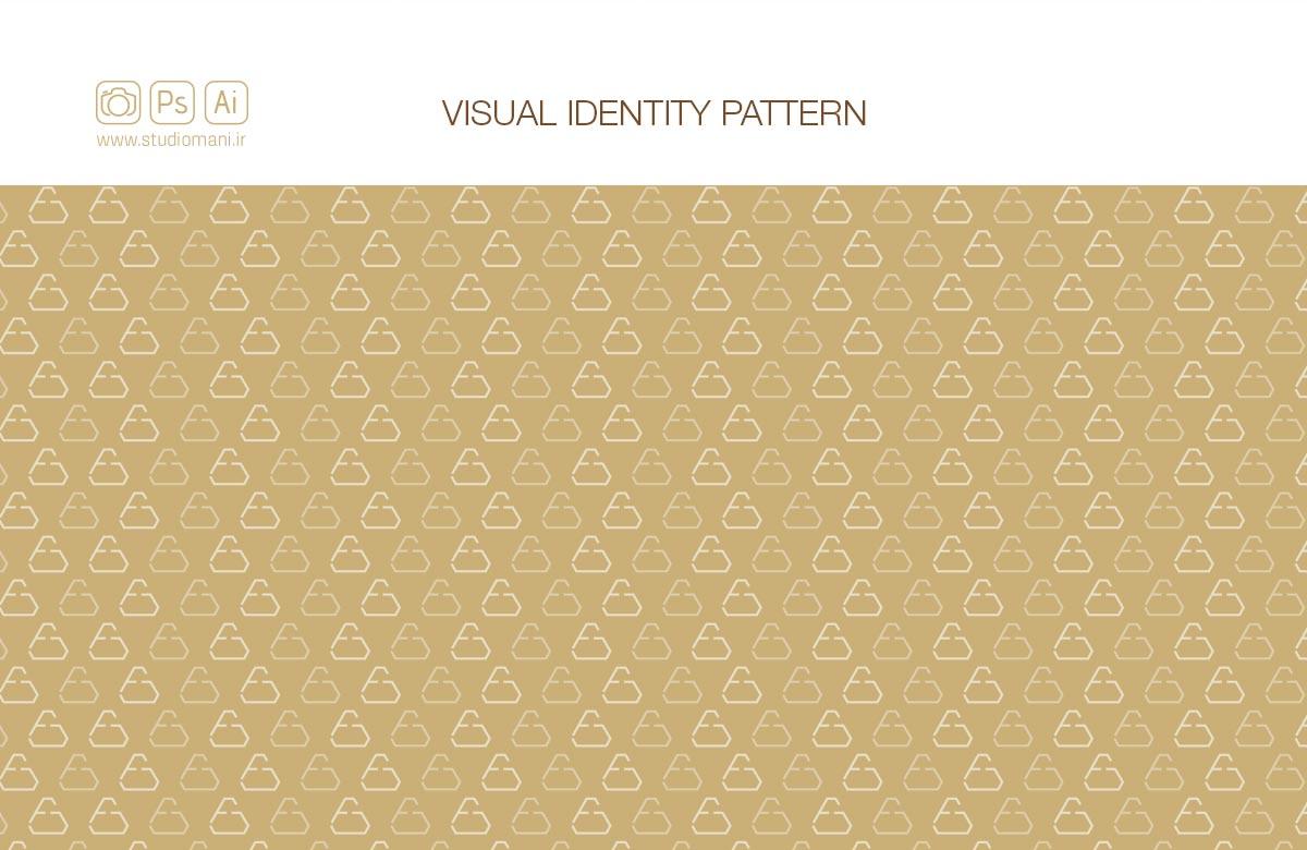 طراحی پترن هویت بصری