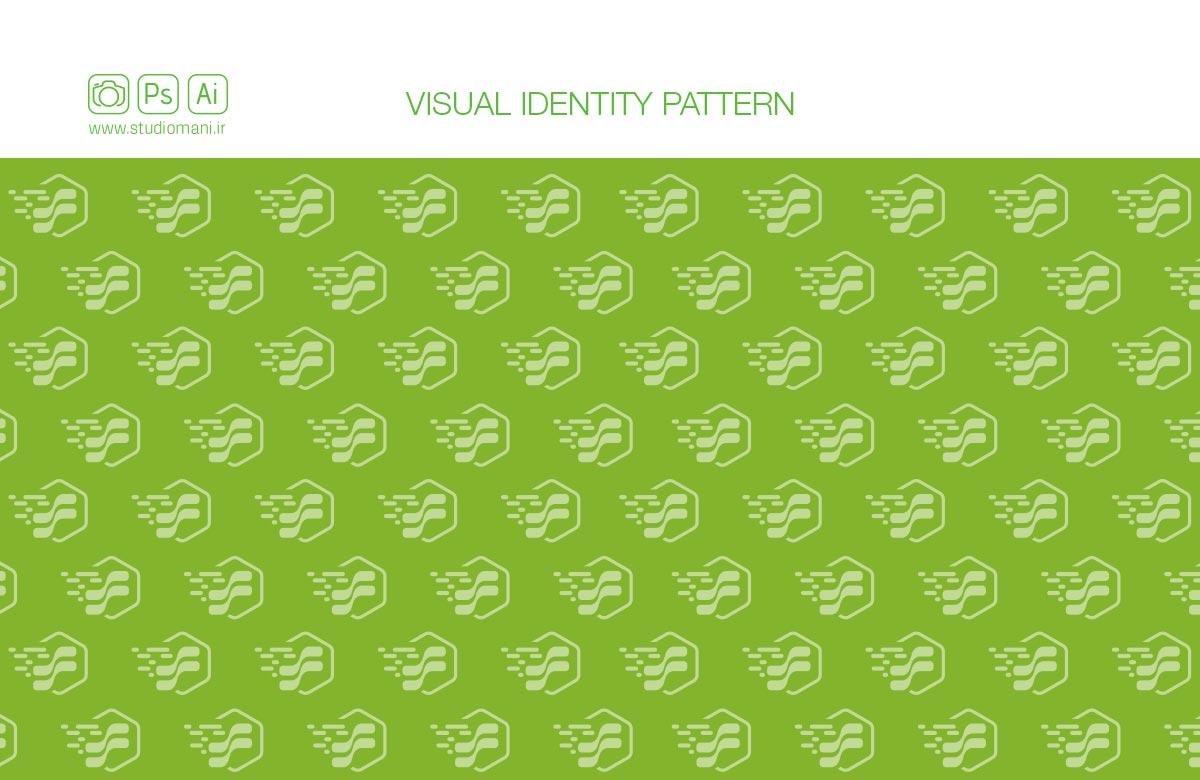 هویت بصری سبز سرور