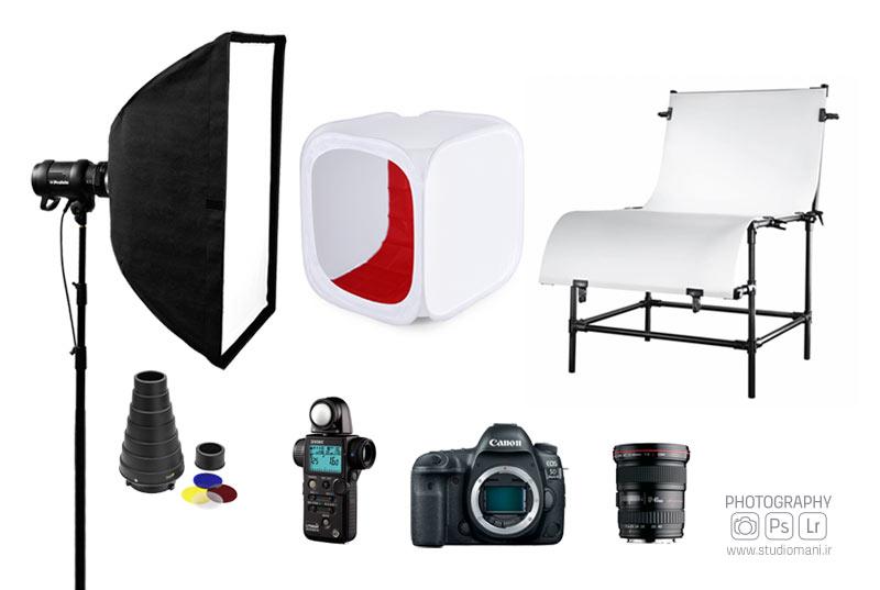 تجهیزات عکاسی صنعتی