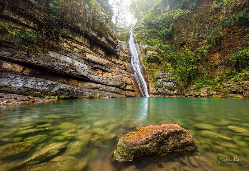عکاسی از آبشار و رودخانه