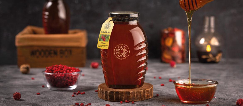 عکاسی تبلیغاتی محصولات عسل