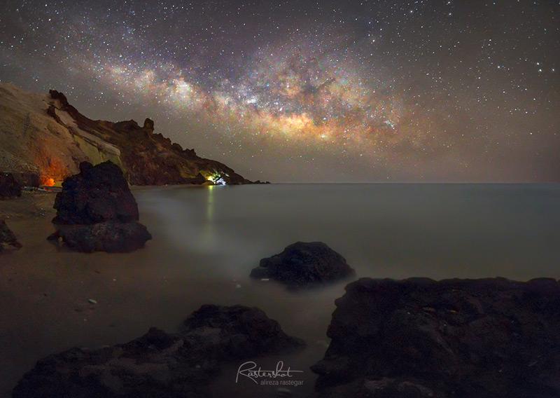 عکاسی از کهکشان