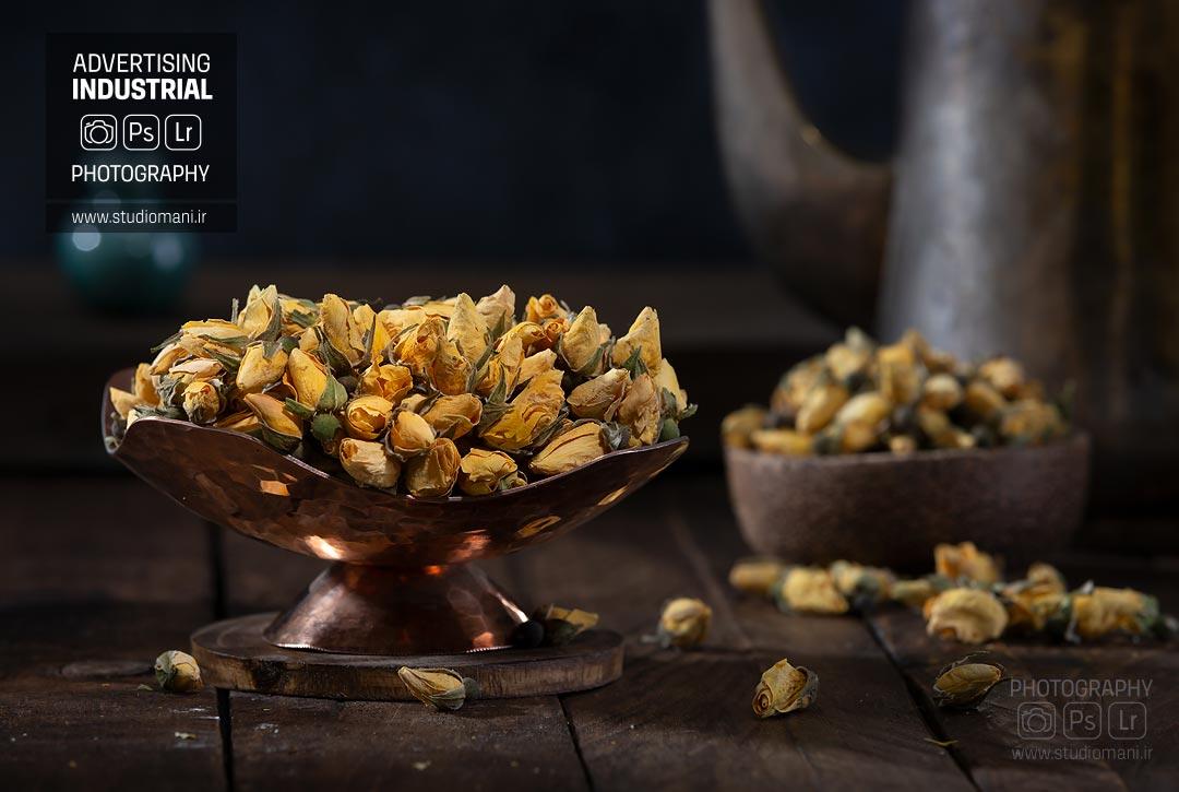 عکاسی تبلیغاتی گیاهان دارویی