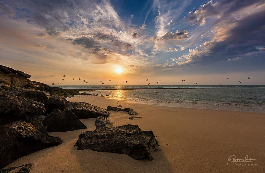 عکاسی در ساحل