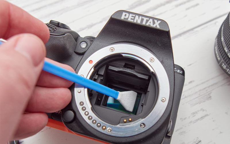 نگهداری دوربین و لنز