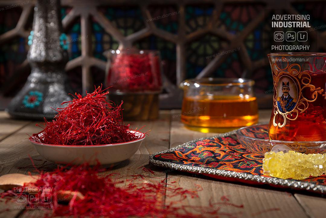 عکاسی تبلیغاتی زعفران