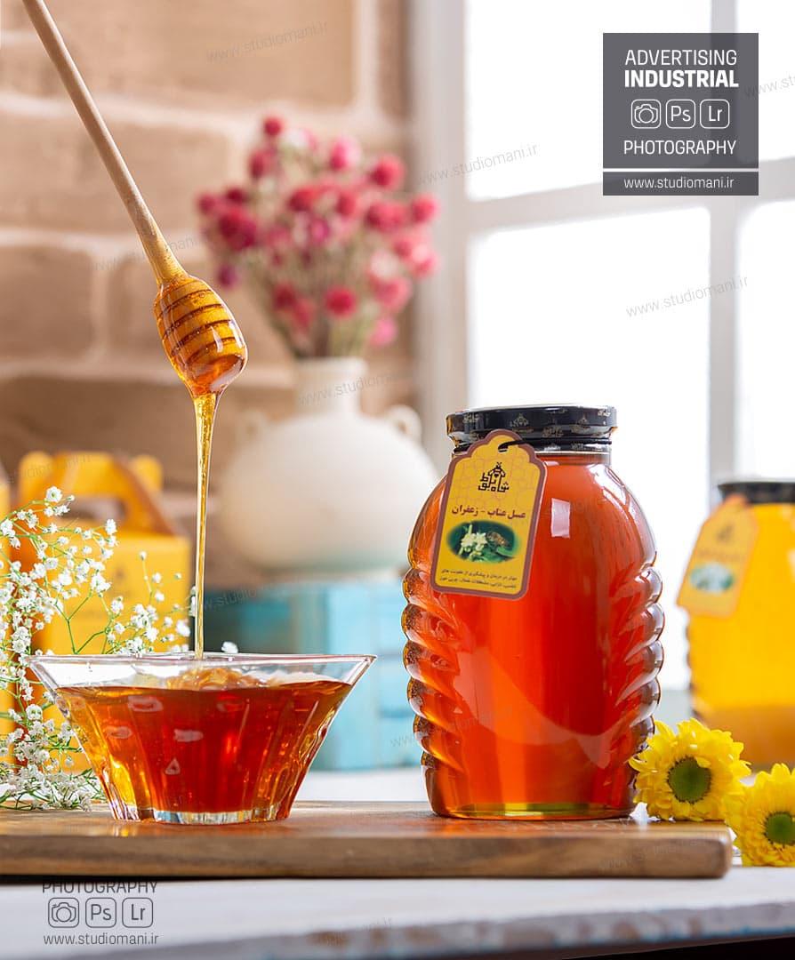 عکاسی تبلیغاتی عسل