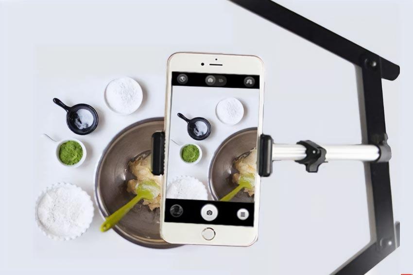 عکاسی غذا با موبایل